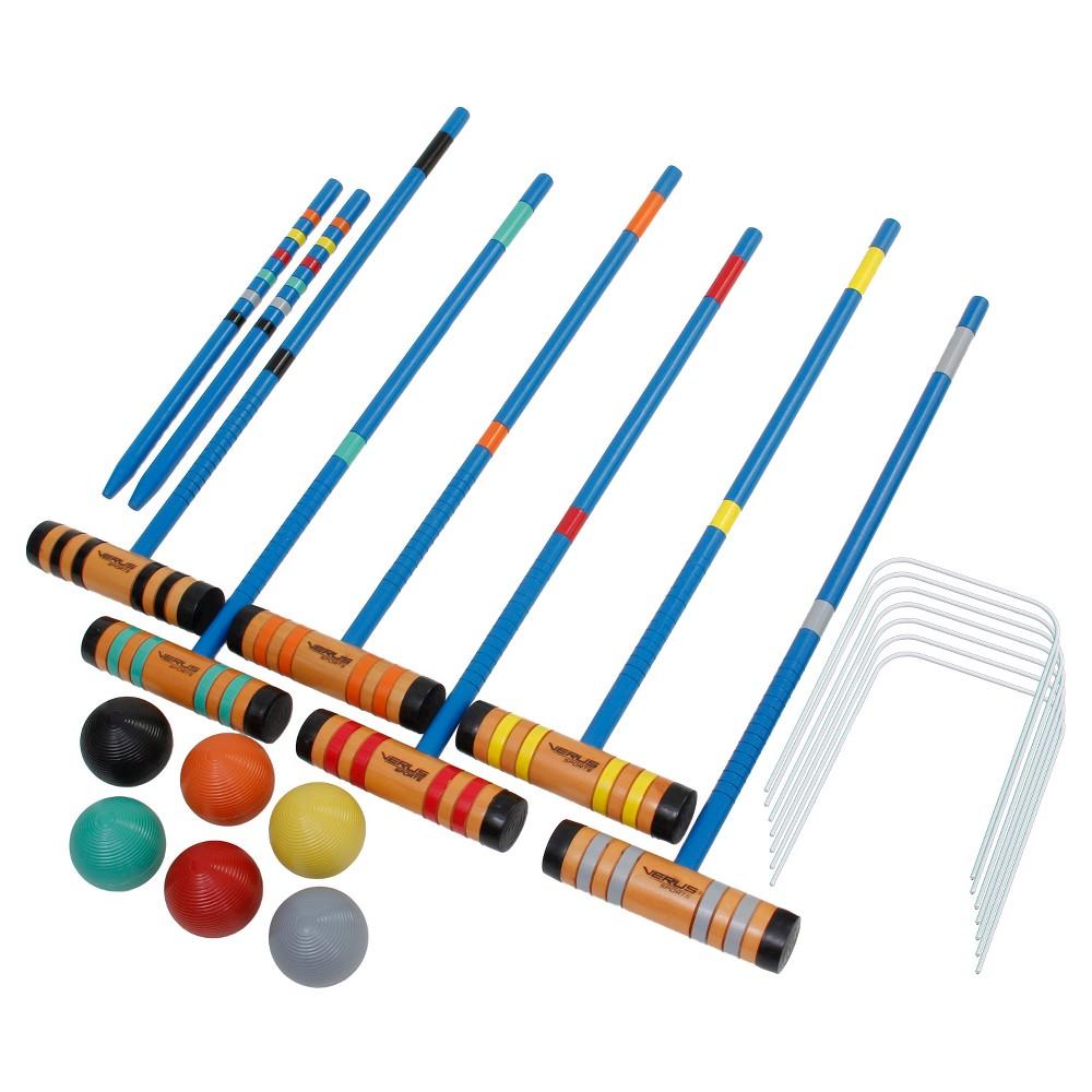 Verus Sports Advanced 6-Player Croquet Set