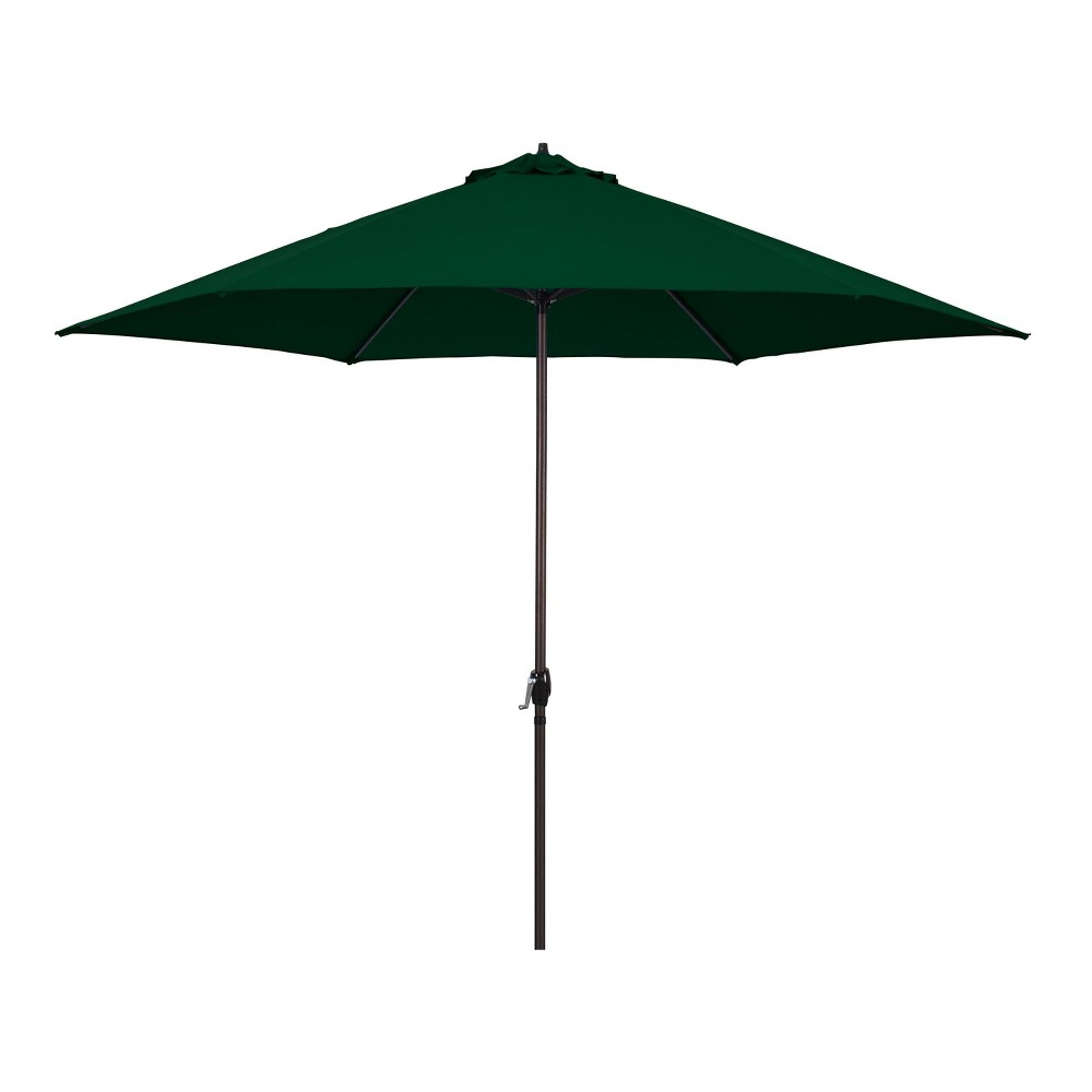 Image of 11' Patio Umbrella - Aluminum Pole with Crank Lift Green - Astella