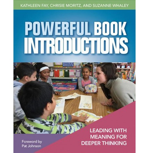 Powerful Book Introductions : Leading With Meaning for Deeper Thinking -  (Paperback) - image 1 of 1