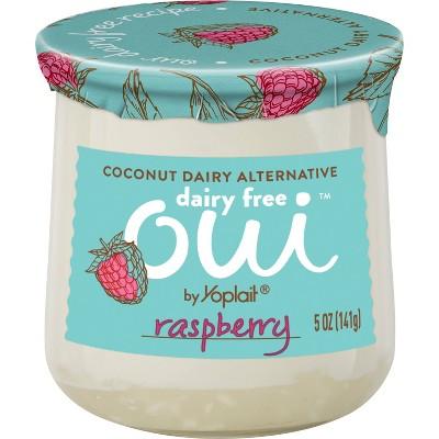 Oui by Yoplait Dairy-Free Raspberry - 5oz
