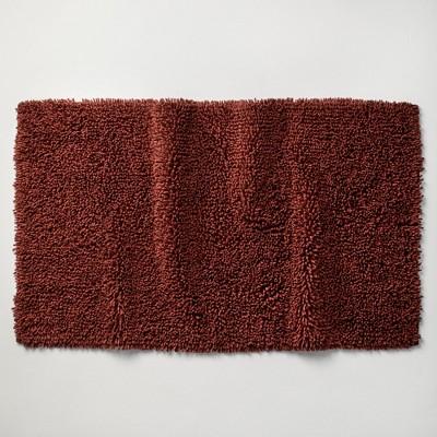 """24""""x40"""" Mélange Looped Bath Rug Clay - Casaluna™"""