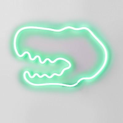 Neon Dinosaur Green - Pillowfort™