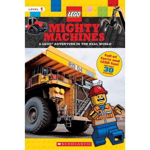 Mighty Machines (Lego Nonfiction) - by  Scholastic & Penelope Arlon (Paperback) - image 1 of 1