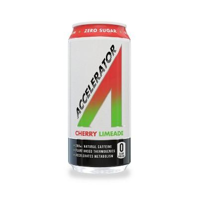 Adrenaline Shoc Accelerator Cherry Limeade Energy Drink - 16 fl oz Can