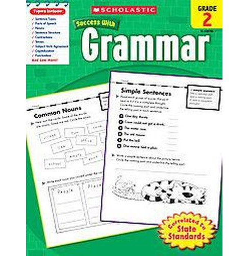 Scholastic Success With Grammar, Grade 2 (Paperback) - image 1 of 1