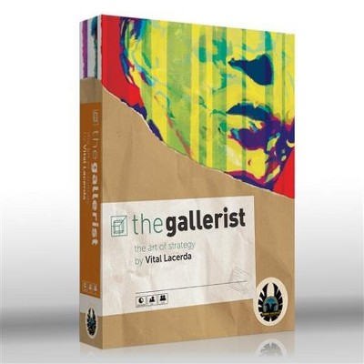 Gallerist (2020 Edition) w/Scoring Expansion & Upgrade Pack Board Game