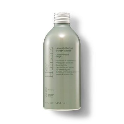 Hey Humans Body Wash Cedarwood Sage - 14 fl oz