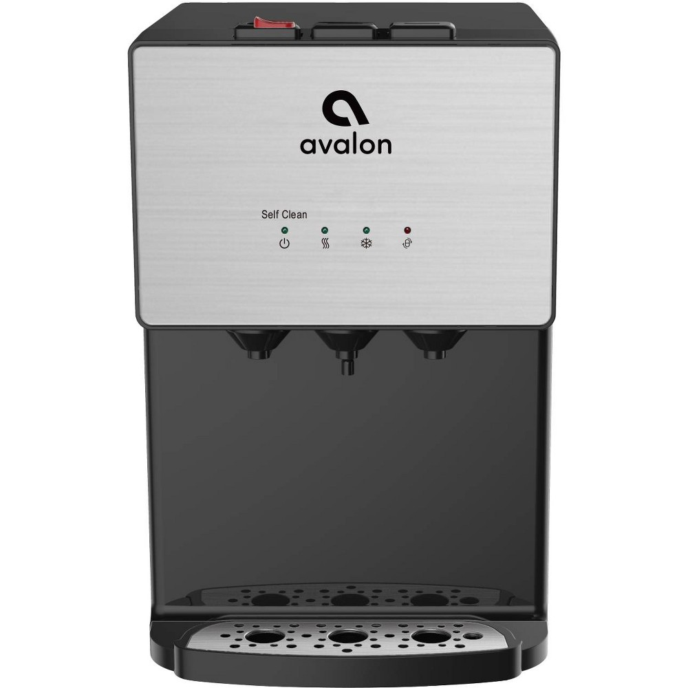 Avalon Premium 3 Temperature Self Cleaning Countertop Water Cooler – Stainless Steel (Silver) 54249716