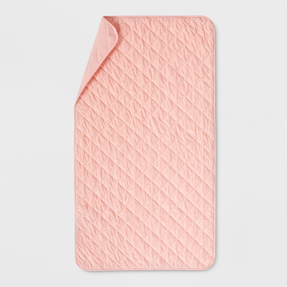 Twin Waterproof Sleep Anywhere Pad Pink Pillowfort