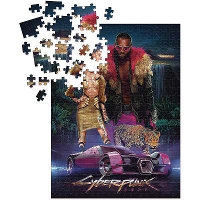 Dark Horse Comics Cyberpunk 2077 Neokitsch 1000 Piece Jigsaw Puzzle