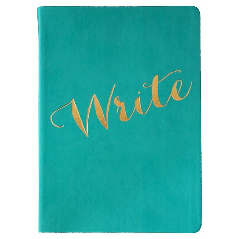 "Blank Journal Eccolo Ltd 5.5"" x 8"" Aqua Pink - image 1 of 6"