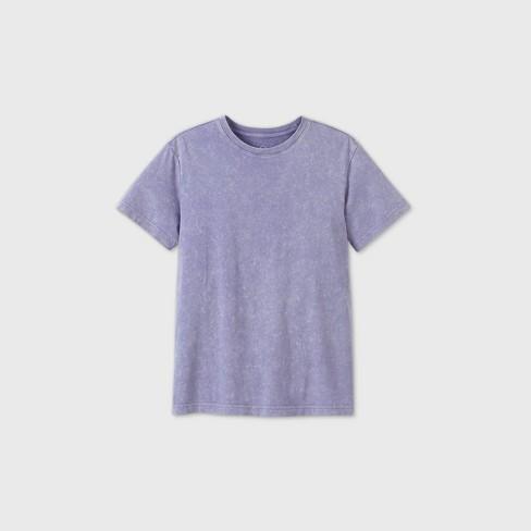 Men's Relaxed Fit Short Sleeve Twilight Turkey T-Shirt - Original Use™ Purple - image 1 of 2