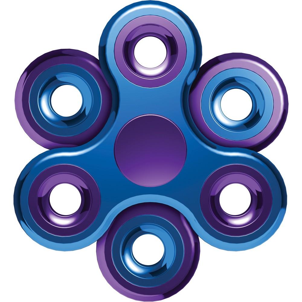 Vibe Metallic Stackable Fidget Spinner Kit, Multi-Colored