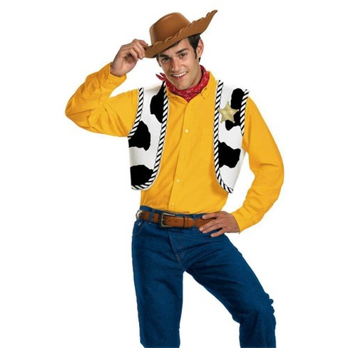 Adult Toy Story Woody Halloween Costume Kit - image 1 of 3