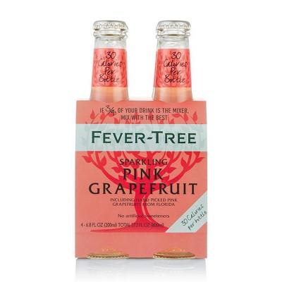 Fever-Tree Sparkling Pink Grapefruit - 4pk/200ml Bottles