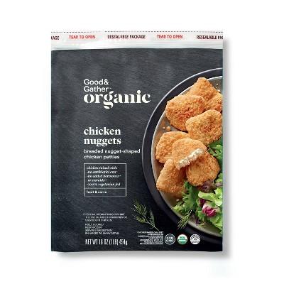 Organic Chicken Nuggets - Frozen - 1lb - Good & Gather™