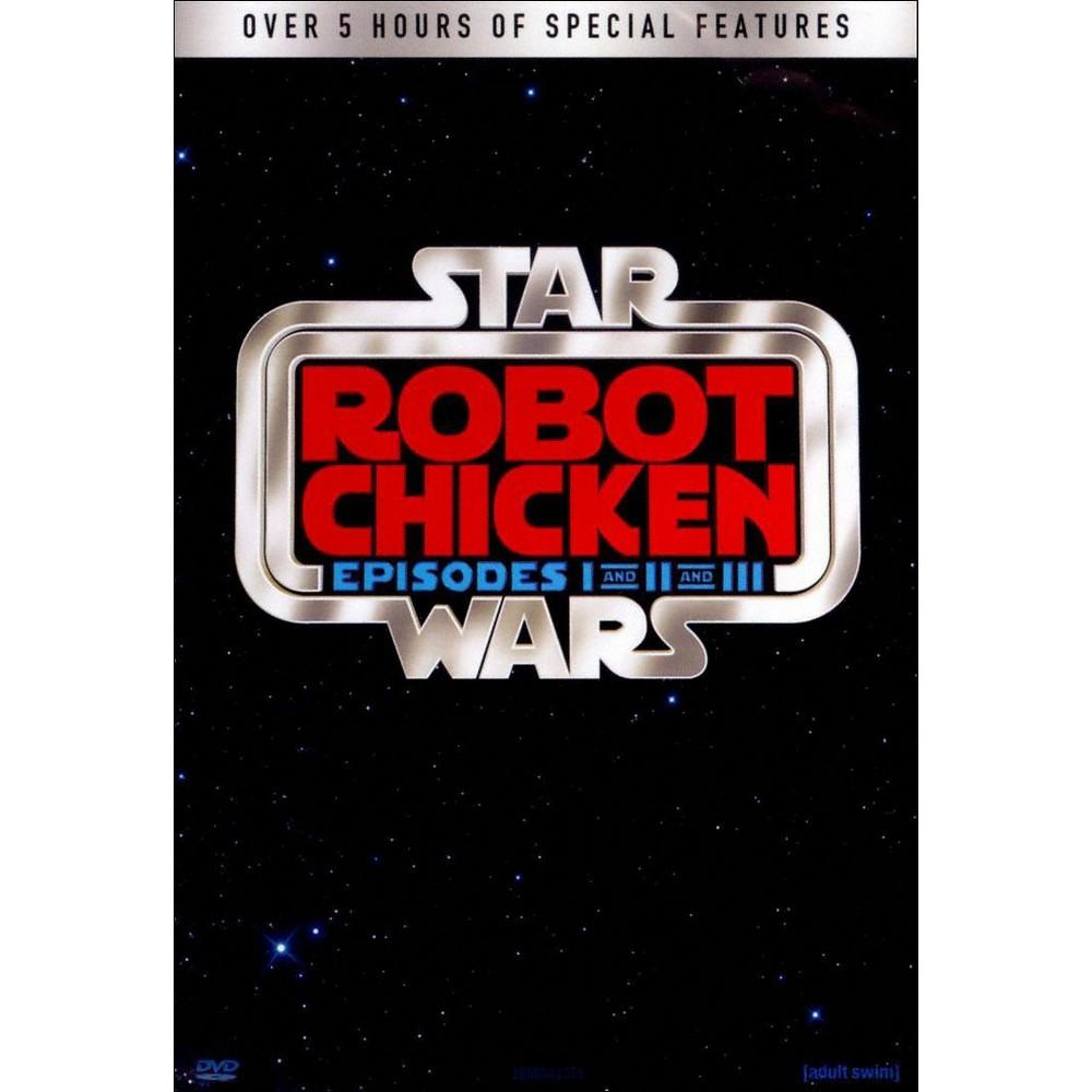 Robot Chicken: Star Wars I-Iii (3 Discs) (dvd_video)
