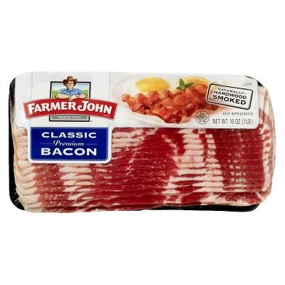 Farmer John Classic Premium Bacon - 16oz
