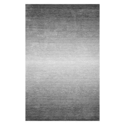 Gray Solid Tufted Area Rug 9'X12' - nuLOOM