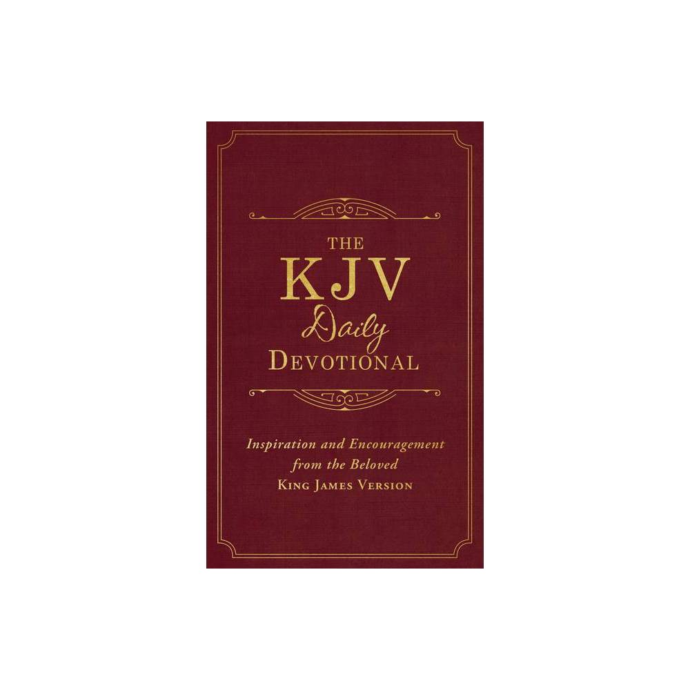 KJV Daily Devotional - by Compiled by Barbour Staff (Paperback)
