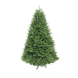7.5ft Unlit Artificial Christmas Tree Full Davenport Fir - Puleo