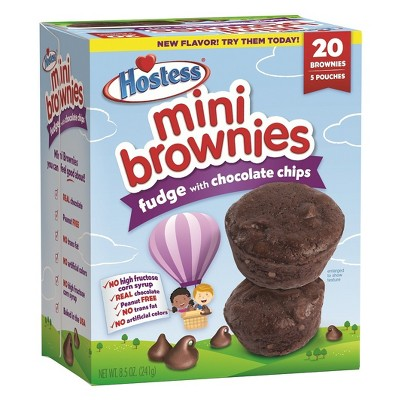 Baked Goods & Desserts: Hostess Mini Brownies
