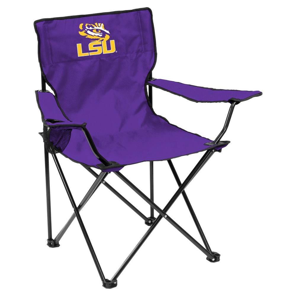Lsu Tigers Quad Folding Camp Chair, Purple/Gold
