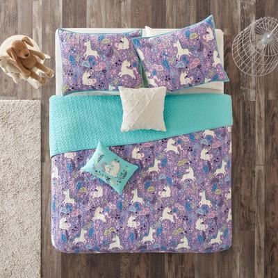 Laila Cotton Printed Coverlet Set