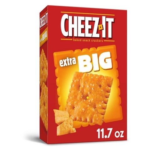 Cheez-It Big Baked Snack Crackers - 11.7oz - image 1 of 4