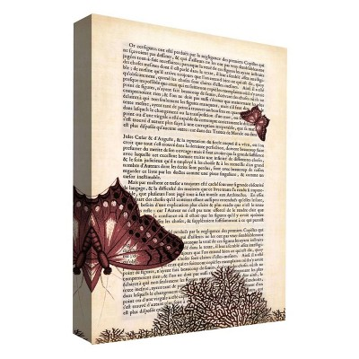 "11"" x 14"" A Butterfly Story IV Decorative Wall Art - PTM Images"
