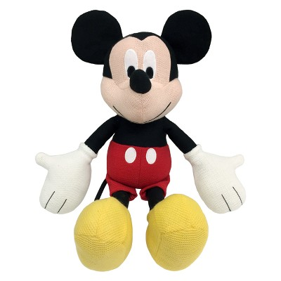 Disney Mickey Mouse Knit Pillow Buddy Red/Black
