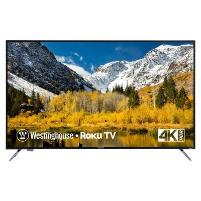 """Westinghouse 55"""" 4K Ultra HD Roku Smart TV with HDR (WR55UX4019 / WR55UT4009)"""
