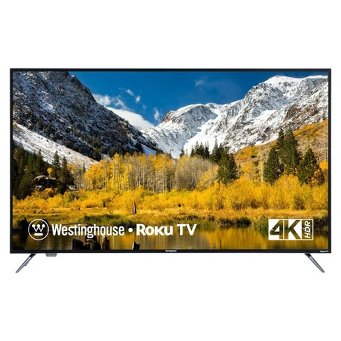 "Westinghouse 55"" 4K Ultra HD Roku Smart TV with HDR (WR55UX4019 / WR55UT4009) - image 1 of 4"