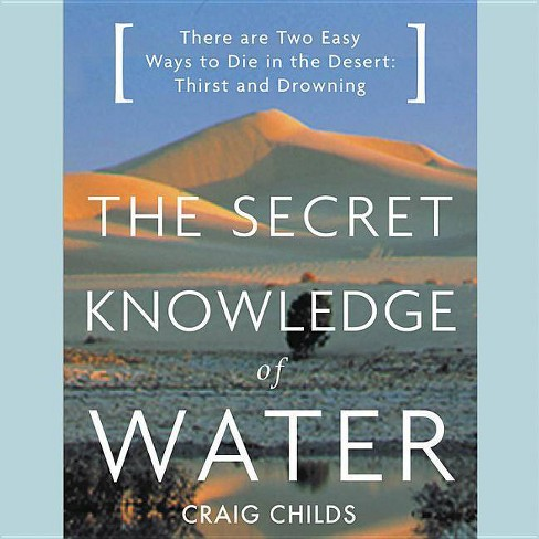 The Secret Knowledge of Water - (AudioCD) - image 1 of 1