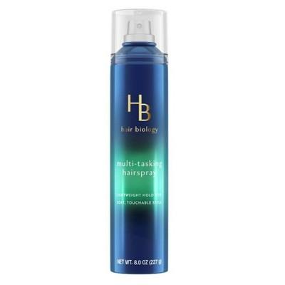Hair Biology Multi-Tasking Hair Spray with Biotin for Lightweight Flexible Hold - 7.7 fl oz