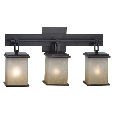 Kenroy Plateau 3 Light Vanity