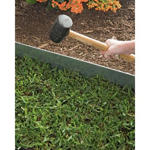 Gardener's Supply Company Galvanized Edging 4, Set of 4 - Gardener's Supply Company - image 1 of 3
