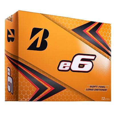 Bridgestone Golf e6 Straight Distance Golf Balls - 12pk