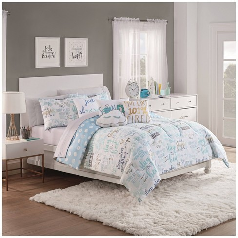 Full Lights Out 3pc Comforter Set - Spree By Waverly - image 1 of 3