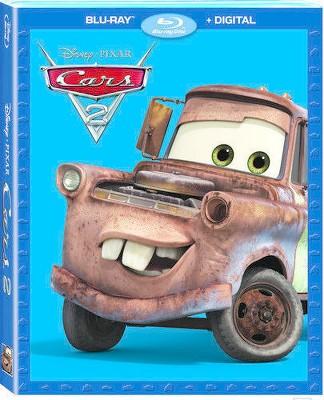 Cars 2 (Blu-ray + Digital)