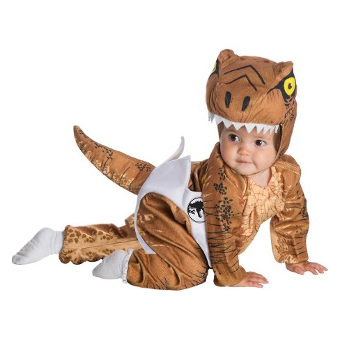 Baby Jurassic World Fallen Kingdom Hatching T-Rex Halloween Costume 6-12M - image 1 of 1