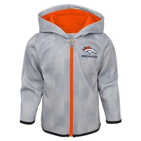 5eacc9093 Denver Broncos Toddler Cheer Loud Sublimated Full Zip Hoodie 18 M   Target
