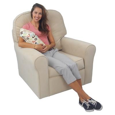 Bette Upholstered Glider Chair   Beige : Target