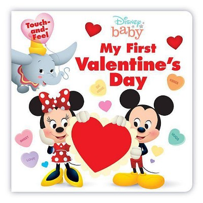 My First Valentine's Day - (Disney Baby) (Board Book)