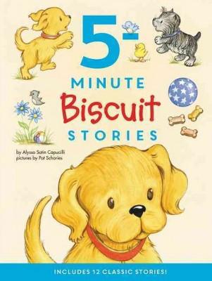 5-Minute Biscuit Stories : Includes 12 Classic Stories! (Hardcover)(Alyssa Satin Capucilli)