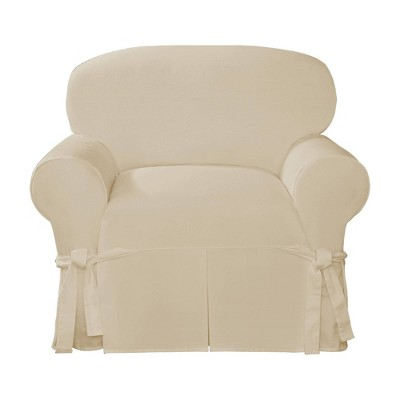 Essential Twill Relaxed Fit Slipcover Chair - Sure Fit