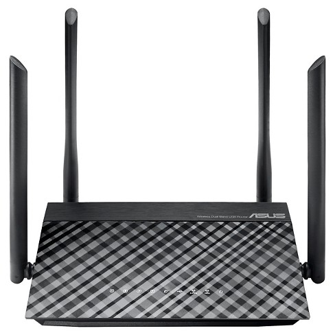 Asus Wireless Dual Band Gigabit Router - Black (RT-AC1200G) - image 1 of 3