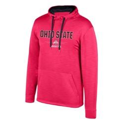 NCAA Ohio State Buckeyes Men's Long Sleeve Performance Hoodie