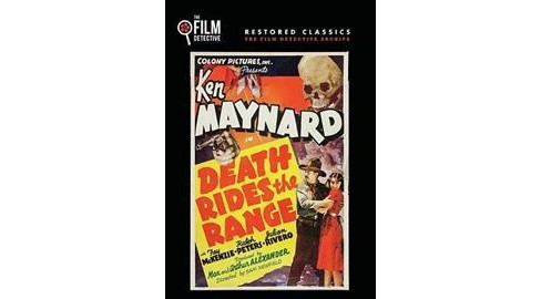 Death Rides The Range (DVD) - image 1 of 1