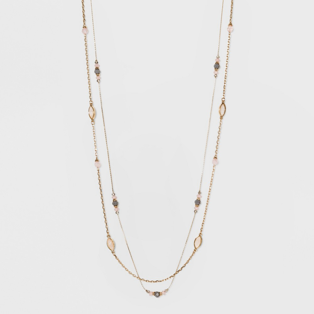 Stones Layered Necklace - A New Day Gold